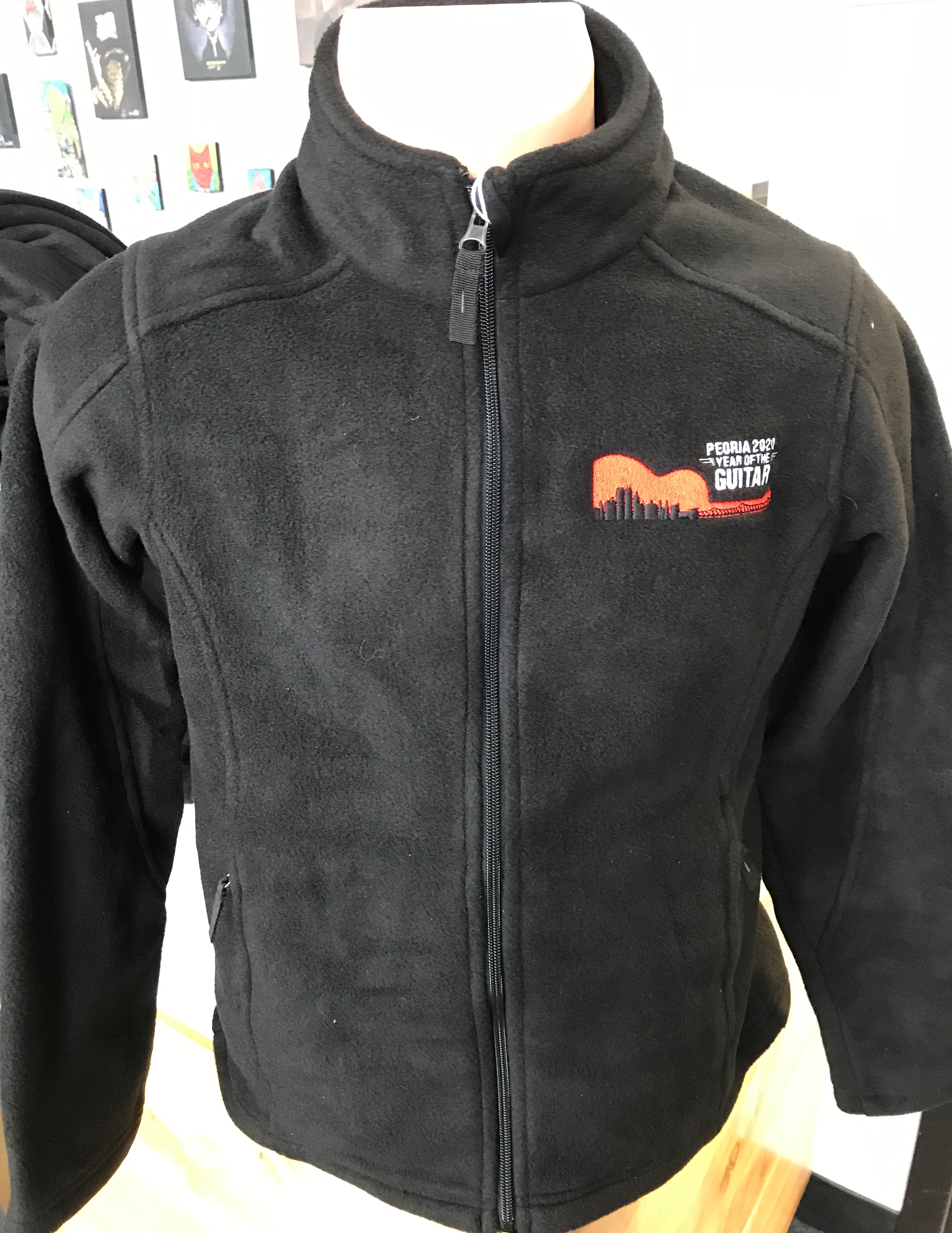 Guitar Fleece Mens M