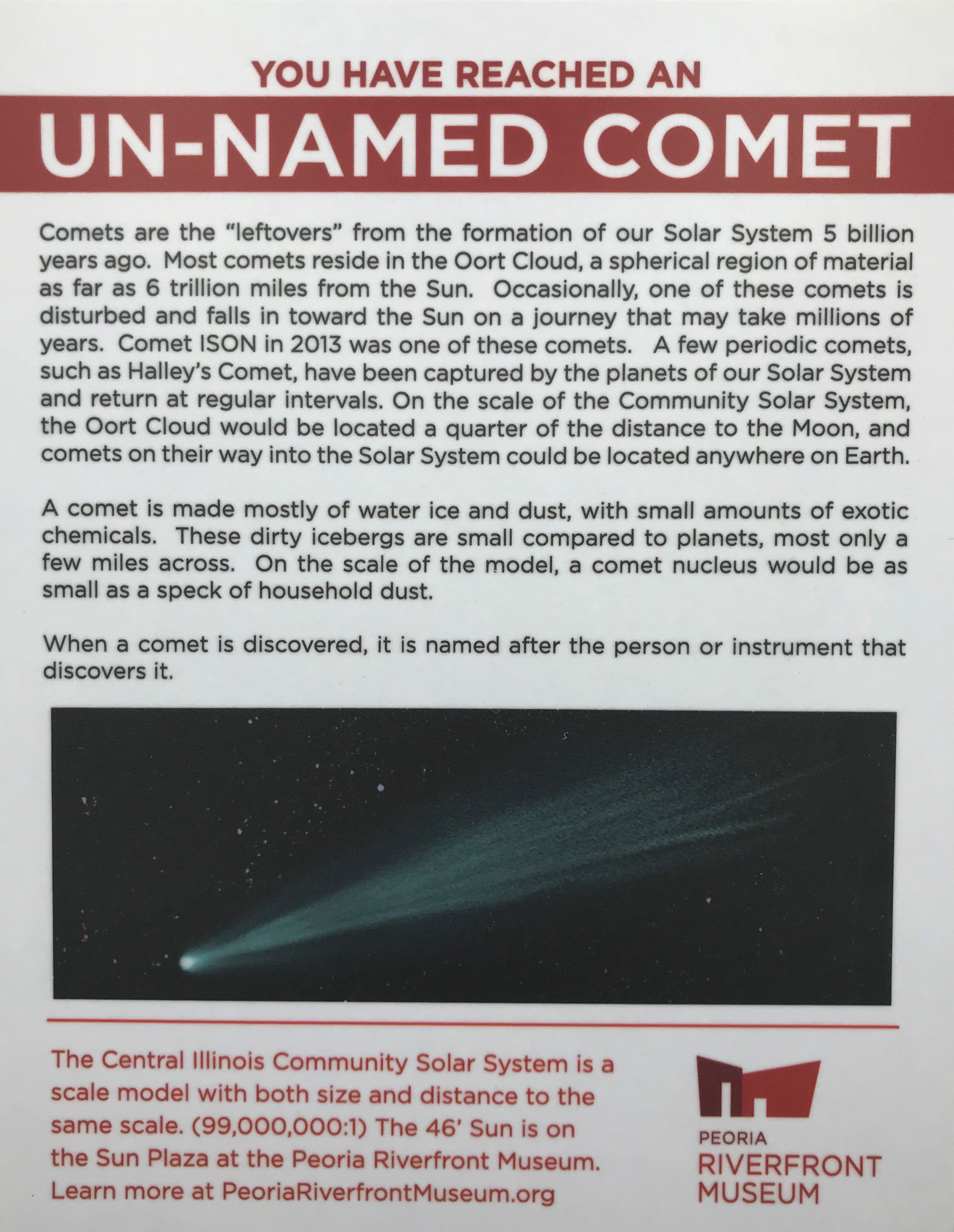 Unnamed Comet PRM